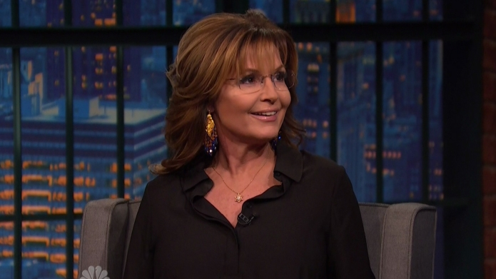 Sarah Palin during an appearance on