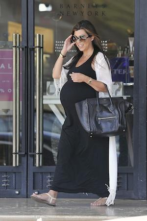 Kourtney Kardashian on baby weight from Penelope.
