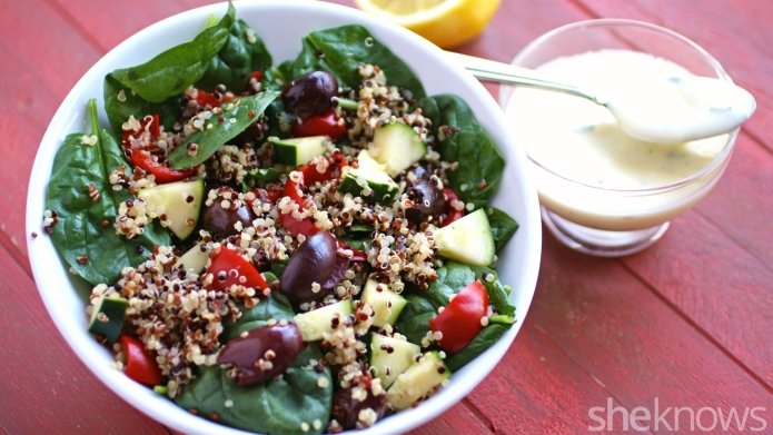 Meatless Monday: Quinoa salad goes Greek