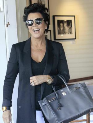 Kris Jenner Leaving Fred Segal in L.A.