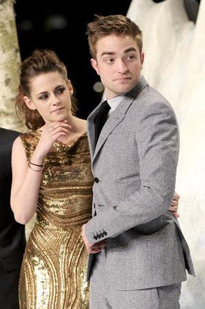 Kristen Stewart and Rob Pattinson