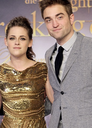 Kristen and Rob at Breaking Dawn premiere