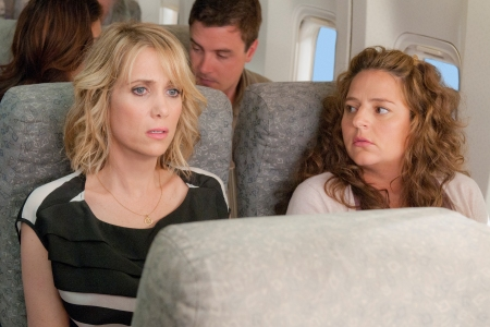Kristen Wiig and Annie Mumolo (in a cameo!) in Bridesmaids