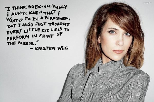 Kristen Wiig in V Magazine