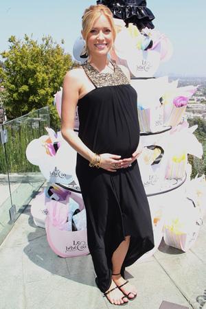 Pregnant Kristin Cavallari at baby shower