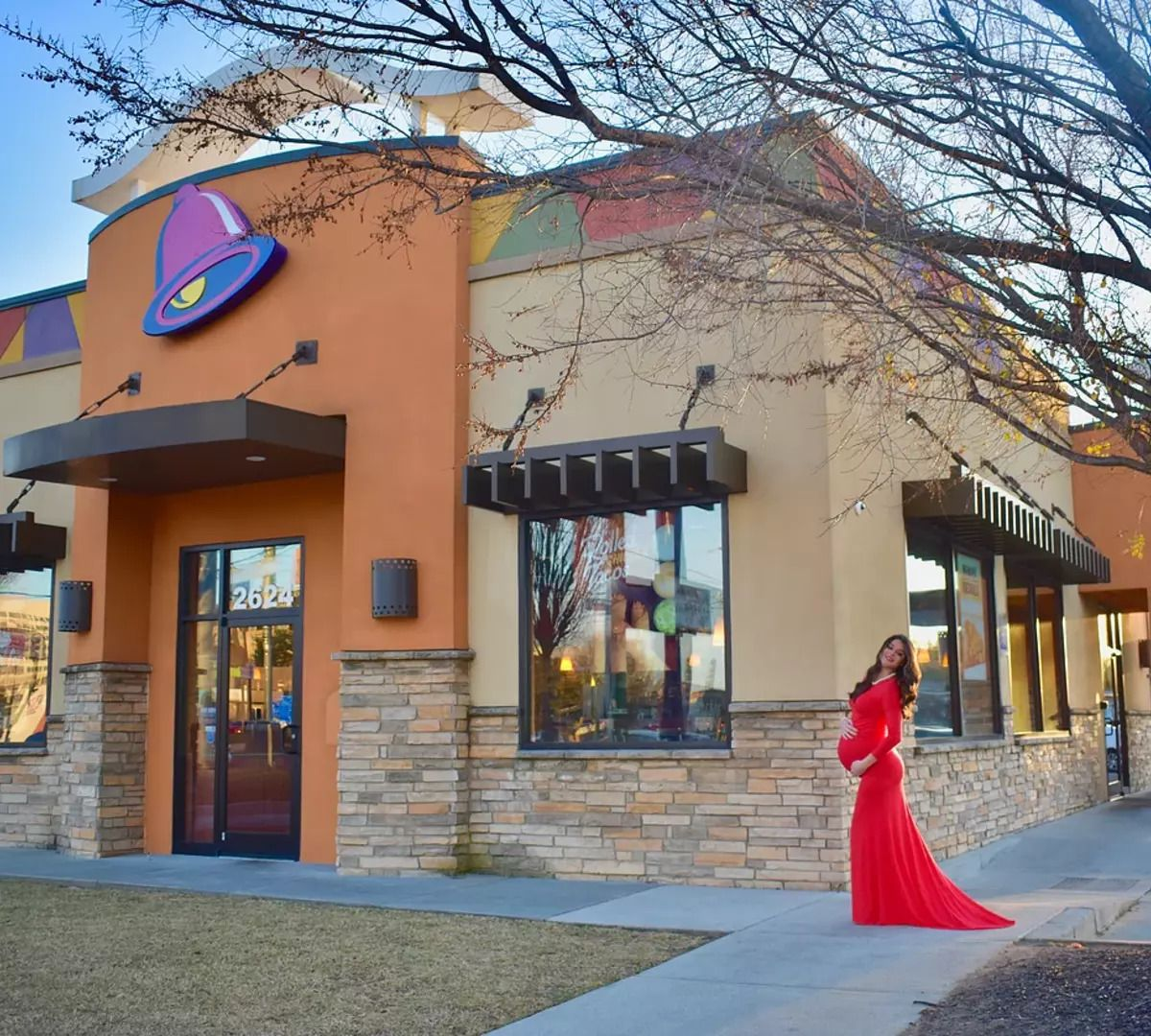 Kristin Johnston found that a photoshoot at Taco Bell captures her in her natural state