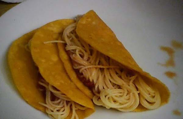 Spaghetti tacos: your kids' new favorite