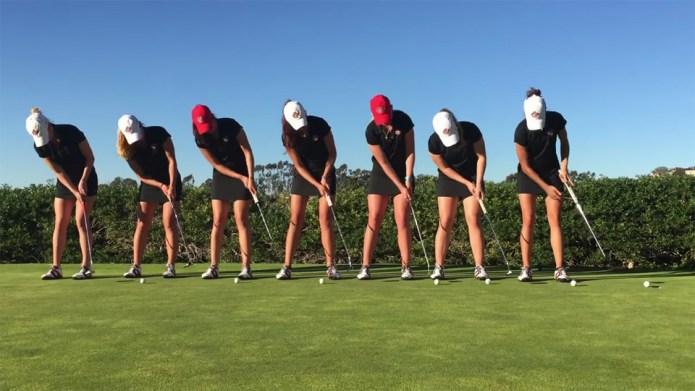 SDSU golf trick video is a