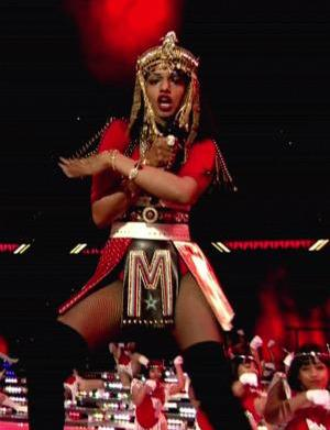 We know who M.I.A. was flipping