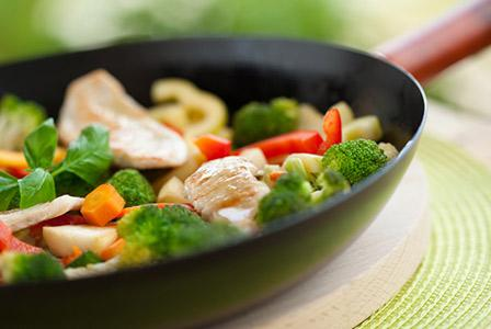 Thai chicken stir-fry