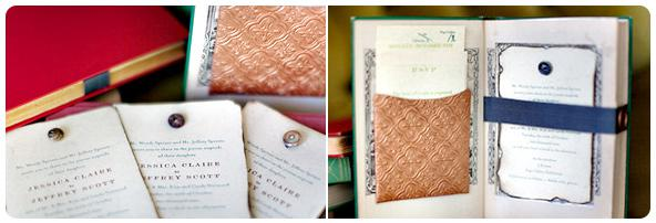 Crafty and creative wedding invitations