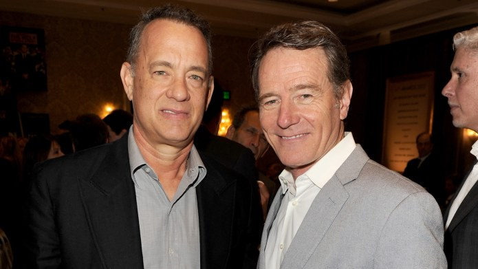 Tom Hanks & Bryan Cranston's Bromance
