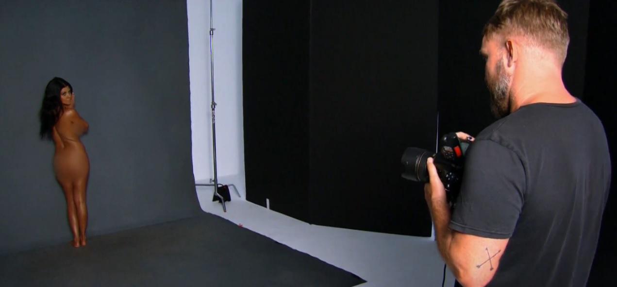 Kourtney photo shoot