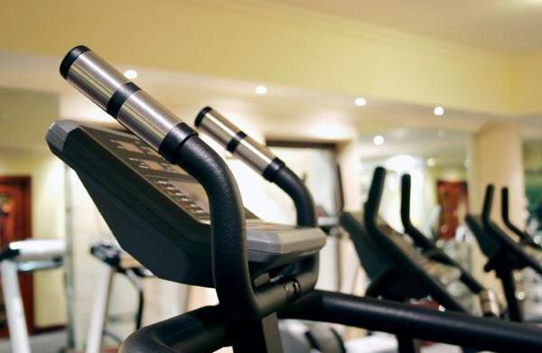 Set of treadmills at a small