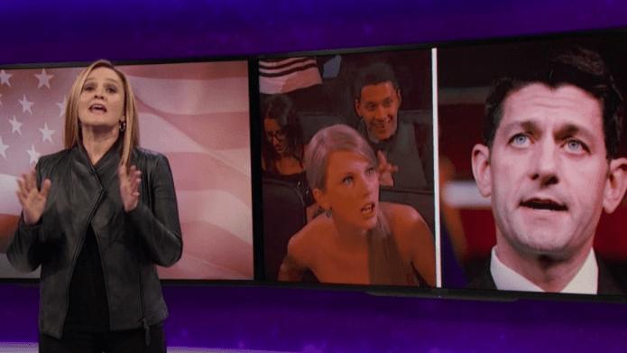 Samantha Bee's Take on Paul Ryan
