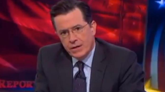 Stephen Colbert praises Canadian hero Kevin
