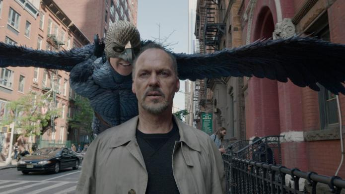 "Michael Keaton as ""Riggan"" in BIRDMAN."