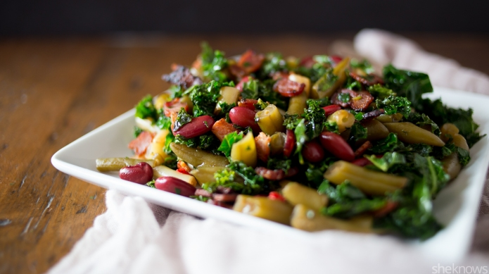 3-Bean salad gets revamped with crispy