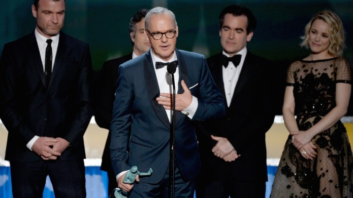 Michael Keaton, Mark Ruffalo use SAG
