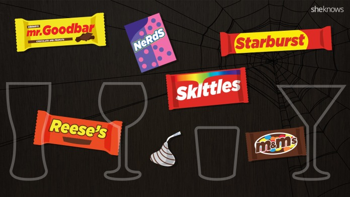 The ultimate Halloween candy and booze