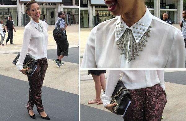 Street chic: Fashionistas spotted at New