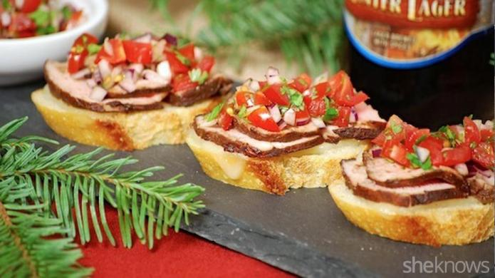 3 Savory holiday appetizer recipes