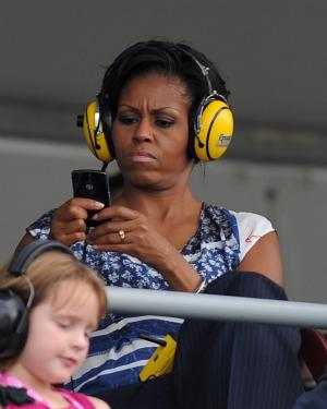 Michelle Obama booed by NASCAR fans