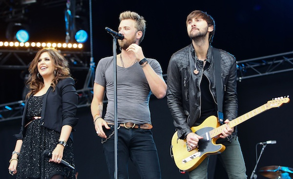 Lady Antebellum 2012 CMAs Vocal Group of the Year.