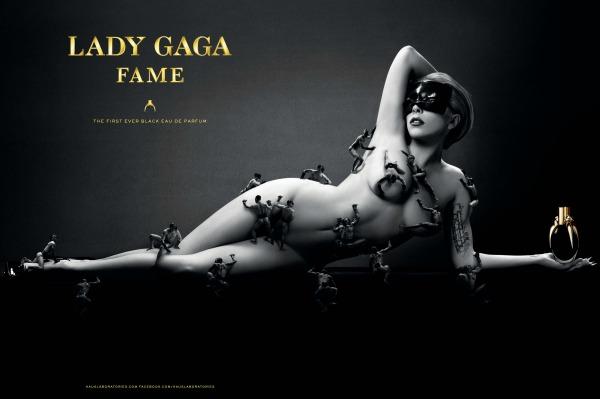 Lady Gaga perfume ad