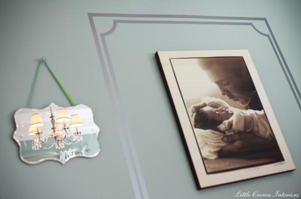 Laila Ali Nursery - Wall decal and portrait