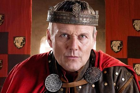 Anthony Head goes royal on Merlin