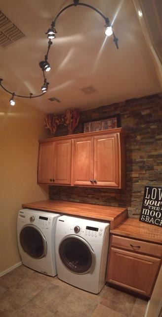 Laundry room renovation - after