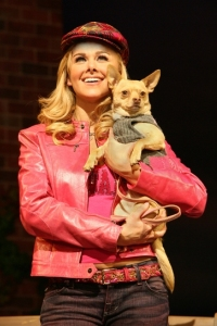 Laura Bell Bundy in Legally Blonde: The Musical