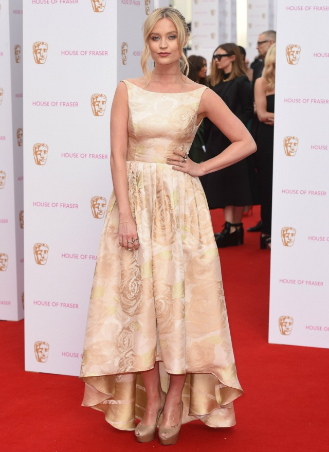 Laura Whitmore at the TV BAFTAS 2015
