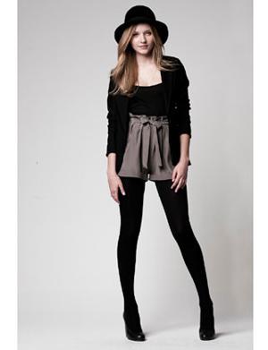 Lauren Conrad Paper Crown 107 Ryder Blazer in Eclipse Blue / 113 Piper Top in Grey / 119 Serena Legging in Black
