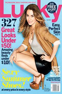 Lauren Conrad in Lucky Magazine