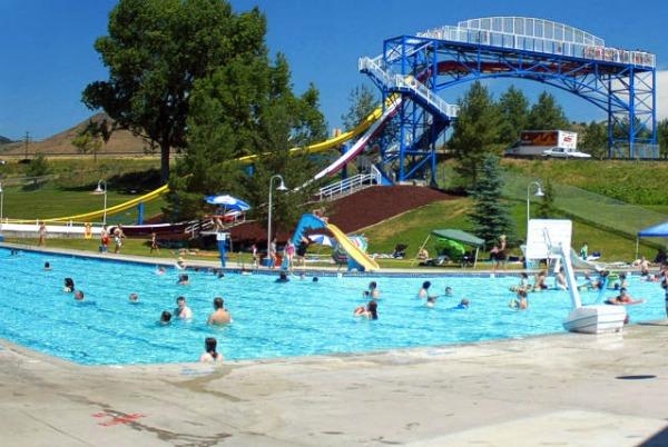Lava hot springs olympic pool