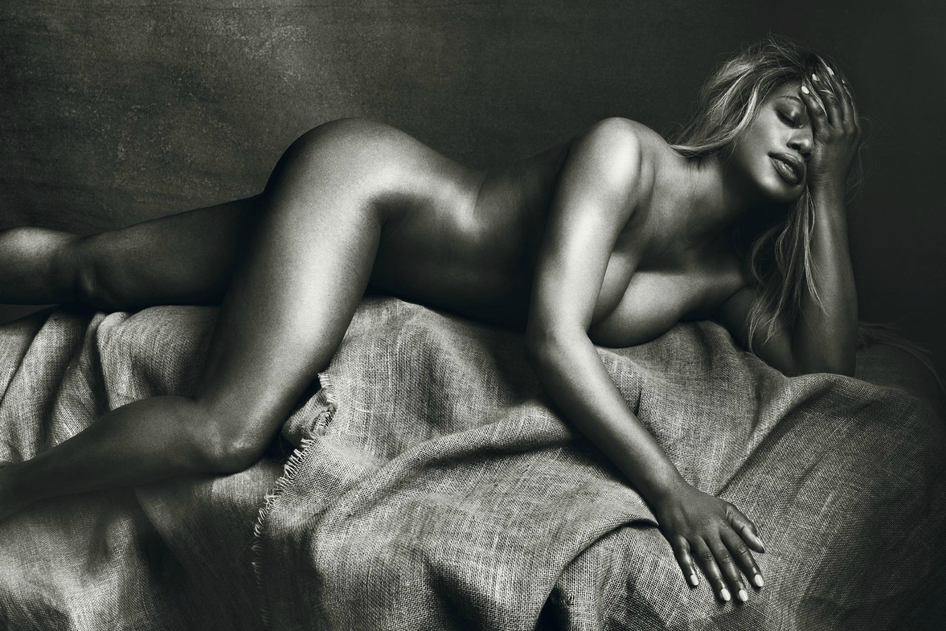 Laverne Cox poses nude for Allure magazine's feature