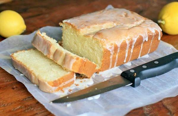 Gluten-free buttermilk pound cake with Meyer