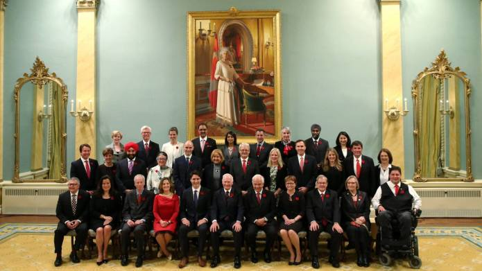 Canada's new cabinet is so diverse