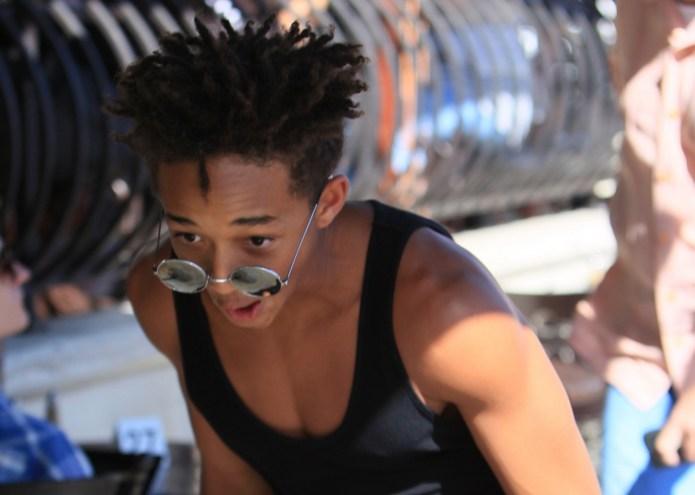 Jaden Smith Makes Gag Video, Blows