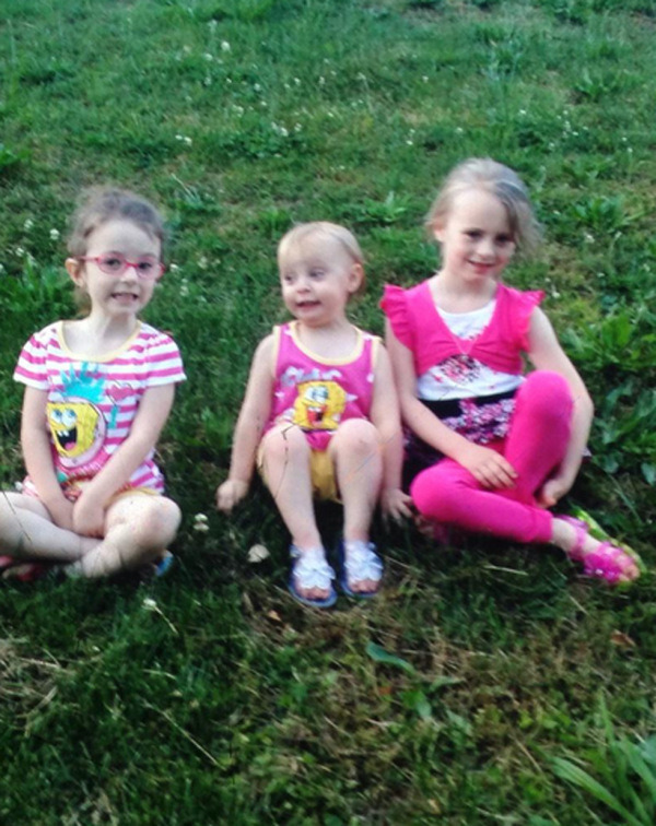 Leah Messer post rehab photo of kids