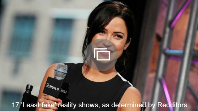 least fake reality shows slideshow
