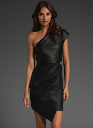 Factory by Erik Hart leather dress