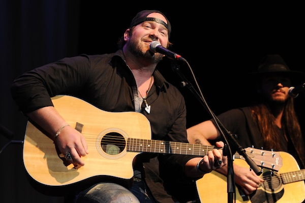 Lee Brice 2012 CMAs New Artist of the Year.