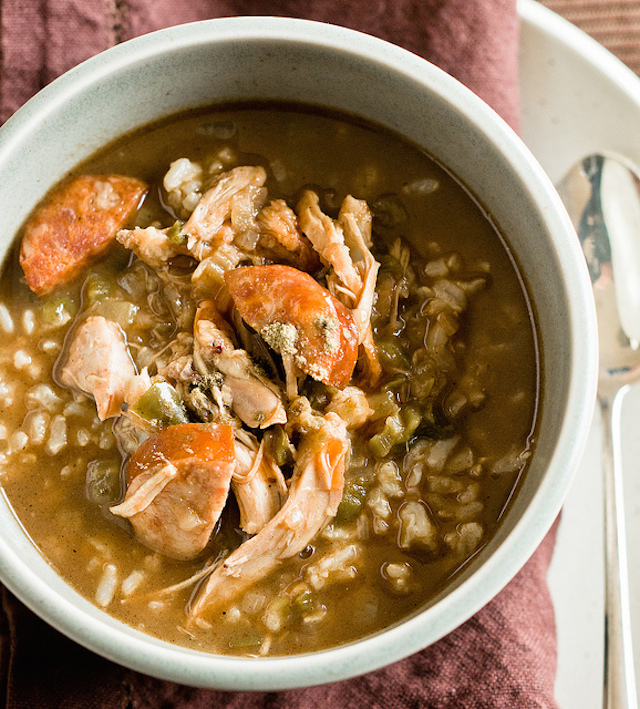 leftover southern gumbo