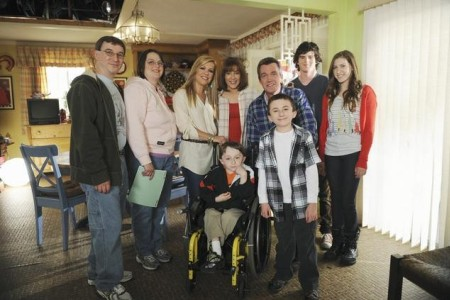Leigh Anne Tuohy and the cast of The Middle join Extreme Makeover: Home Edition