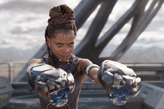 Photo of Letitia Wright in 'Black Panther'