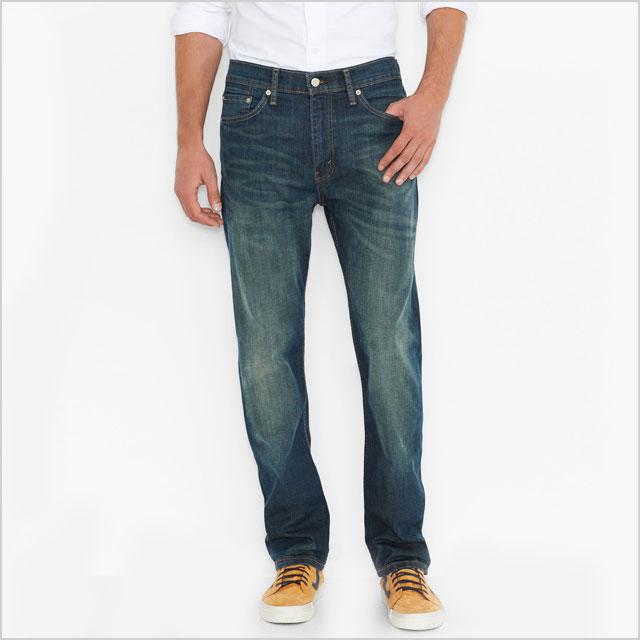 Slim-fitting jeans