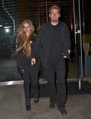 Avril Lavigne & Nickelback's Chad Kroeger:
